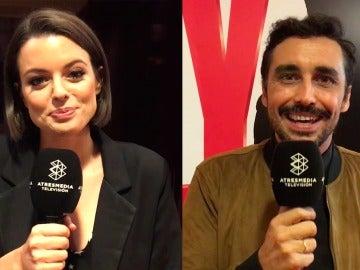 Adriana Torrebejano y Canco Rodríguez, enamorados del rodaje de 'Cuerpo de Élite'