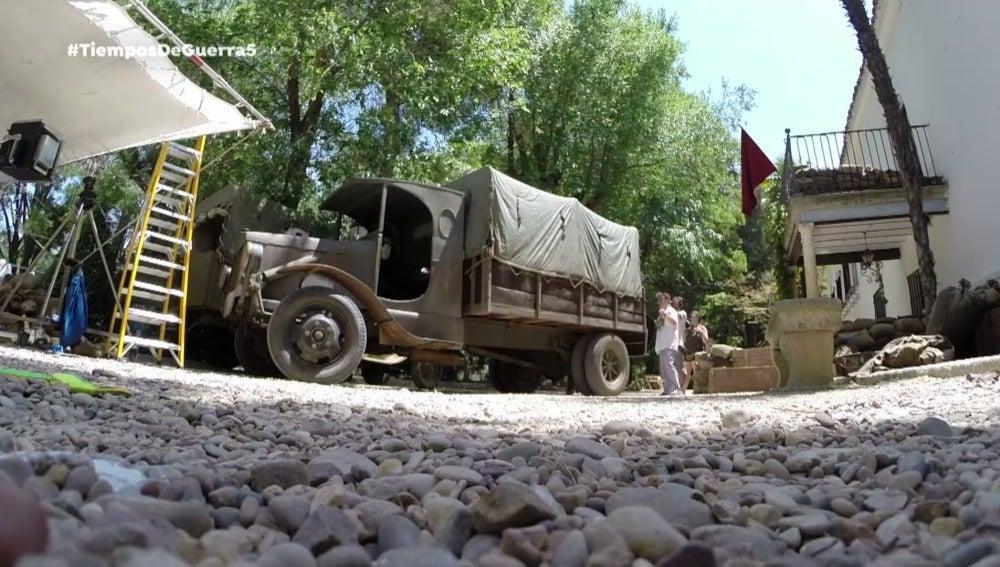 Ambulancias, las grandes protagonistas de la serie