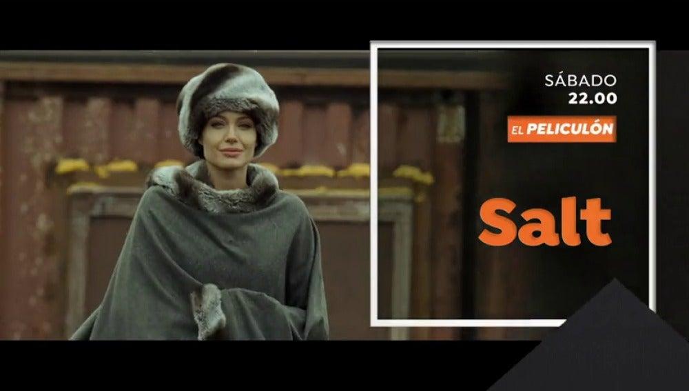 Cine de acción en El Peliculón con 'Salt'