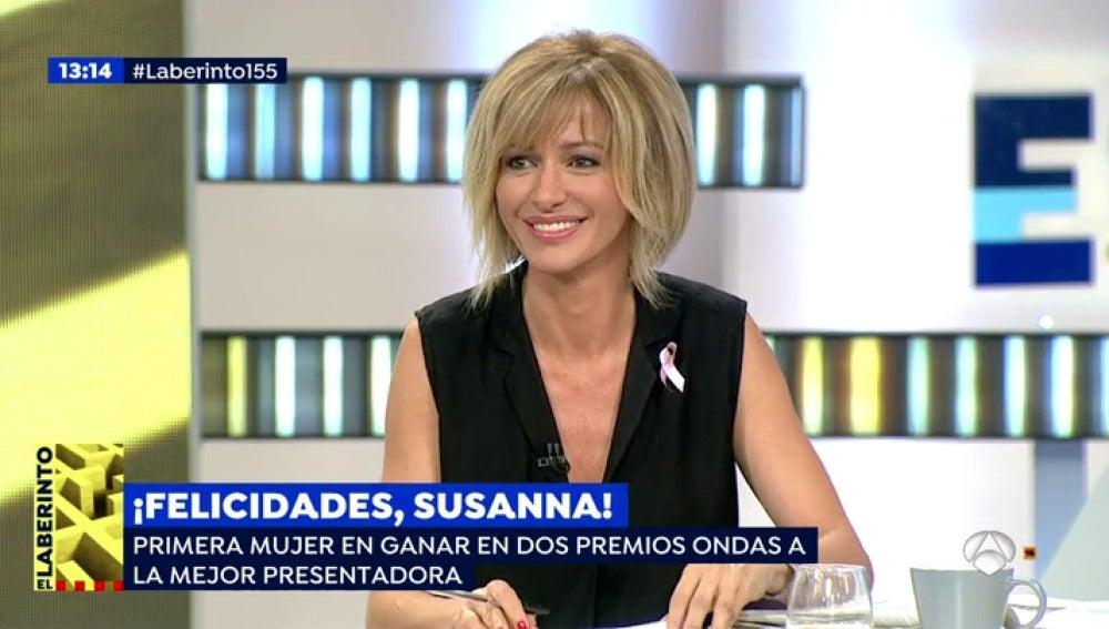 Antena 3 tv susanna griso premio ondas a la mejor for Espejo publico hoy completo