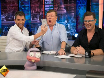 La ronda de chistes más 'pitufa' de Los Morancos en 'El Hormiguero 3.0'