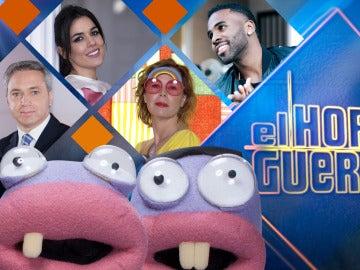 Vicente Vallés, Adriana Ugarte, Ágatha Ruiz de la Prada y Jason Derulo, se divertirán la próxima semana en 'El Hormiguero 3.0'