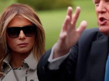 ¿Melania Trump usa una doble?