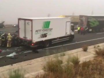 Accidente en Cáceres