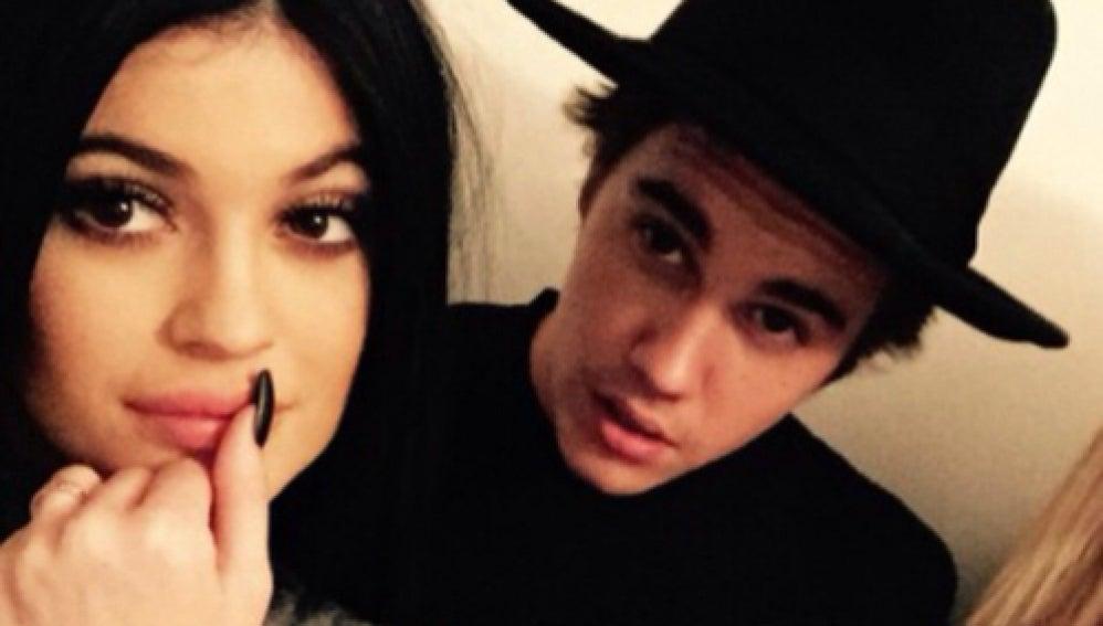 Justin Bieber y Kylie Jenner