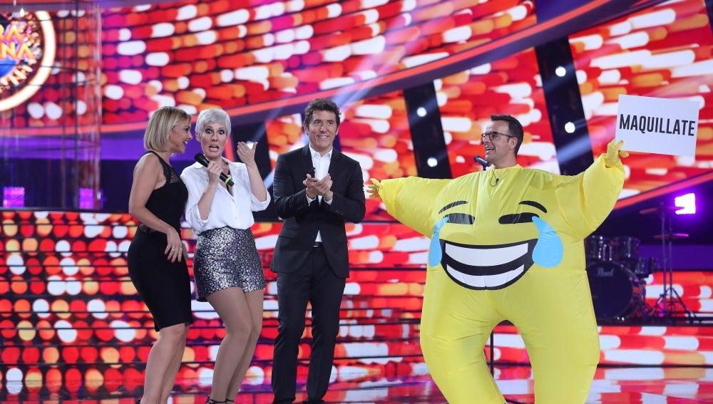 Chenoa y Diana Navarro cantan como Mecano en el reto de un emoticono juerguista