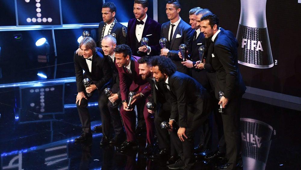 Gala The Best FIFA Football Awards 2017 (23-10-17)