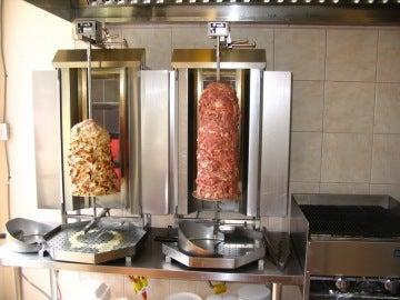 Imagen de archivo de un Kebab