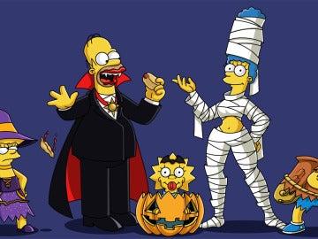 Los Simpson en Halloween