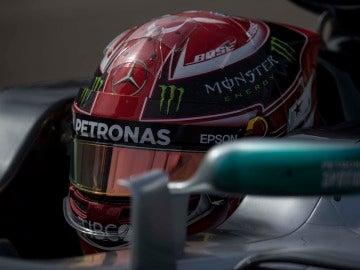 Lewis Hamilton, durante el GP de Estados Unidos