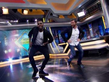 Jason Derulo se despide de 'El Hormiguero 3.0' con un baile muy 'hot'