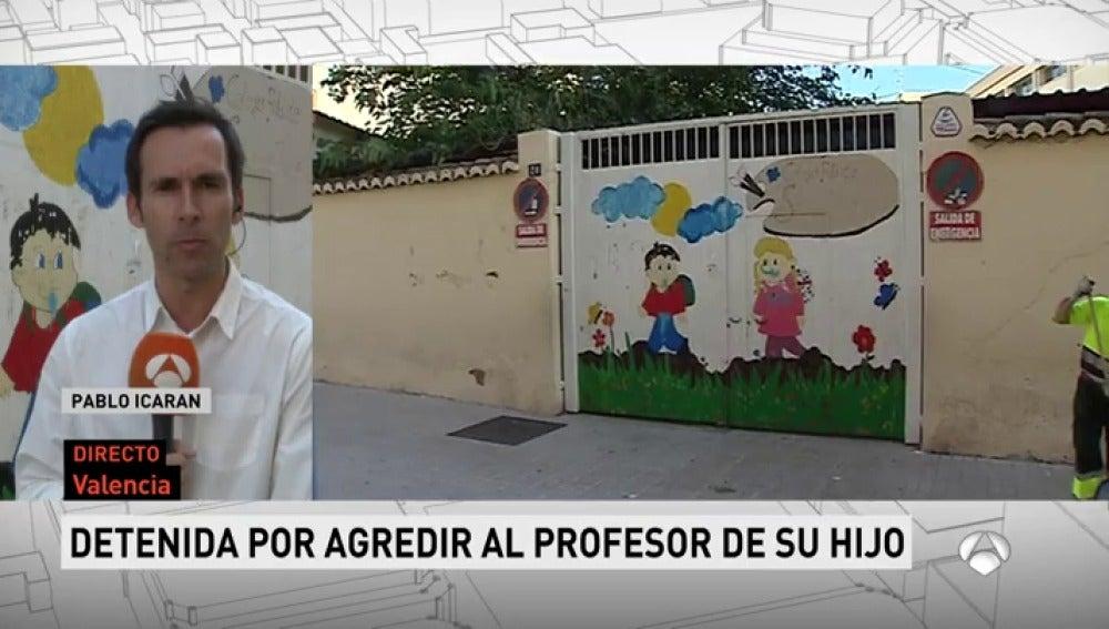 Detenida por agredir y dejar inconsciente al profesor de su hijo en Valencia
