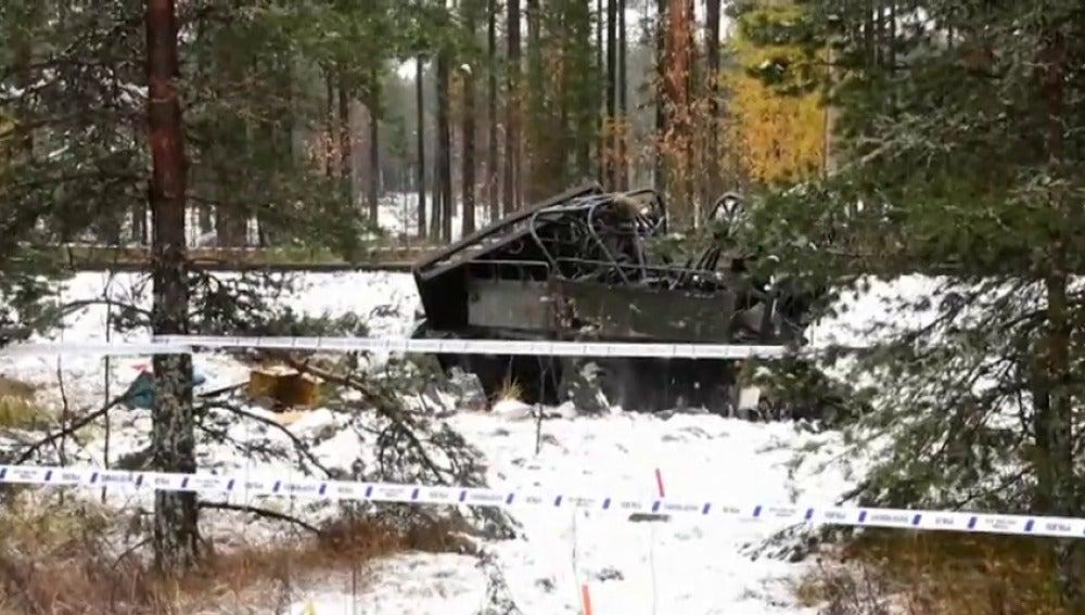 Cuatro muertos en Finlandia al chocar un tren con un camión de las Fuerzas Armadas