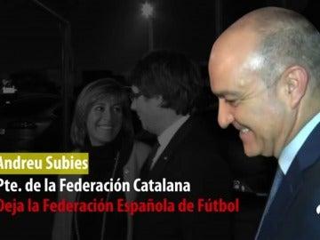 El presidente de la Federación catalana dimite de la Junta de la RFEF