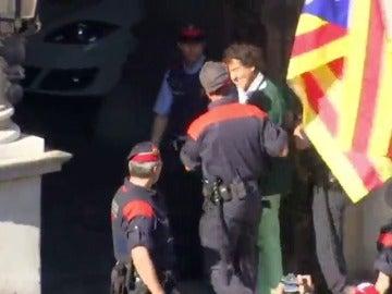 Los Mossos detienen a Álvaro de Marichalar por desobediencia y resistencia