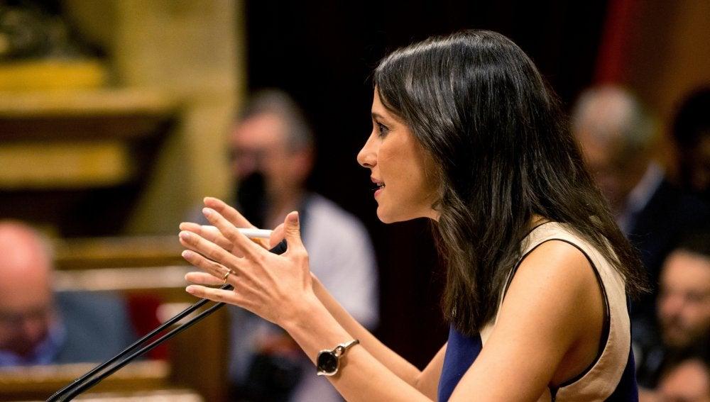 La lider de Ciudadanos en Cataluña Inés Arrimadas