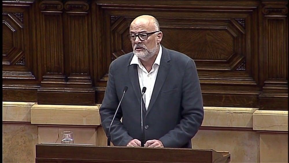 """Junts Pel Sí propone al Parlament """"continuar el mandato"""" del referéndum del 1-O"""
