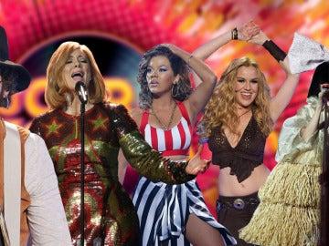 Así fue el paso de Rihanna, Shakira, Leiva, Sia y Adele por 'Tu cara me suena'