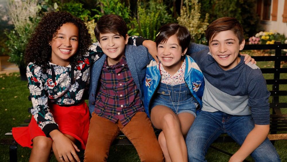 Protagonistas de 'Andi Mack' en la primera temporada