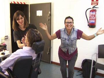 Silvia Abril revoluciona por completo la sala de maquillaje y caracterización