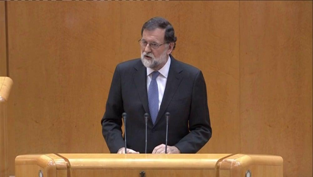 """Rajoy: """"Estamos ante una situación excepcional con consecuencias muy graves"""""""