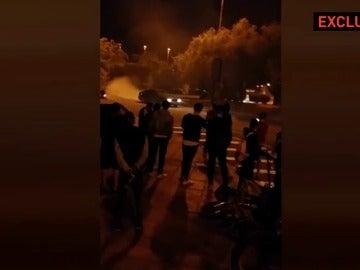 La policía investiga carreras ilegales en La Cartuja de Sevilla