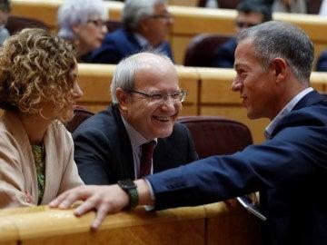 El expresidente de la Generalitat de Cataluña y senador socialista, José Montilla