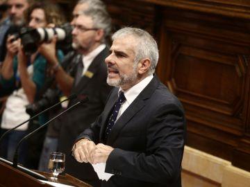 Carlos Carrizosa, diputado de Ciudadanos en el Parlament