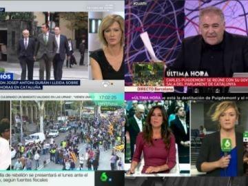 Atresmedia TV, líder informativo, arrasa con su mejor dato diario sin deportes desde el 7D (dic 15), un 33,1%