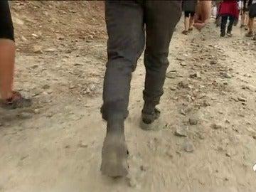 Jóvenes delincuentes canarios se convierten en peregrinos como parte de su castigo para reconducir sus vidas