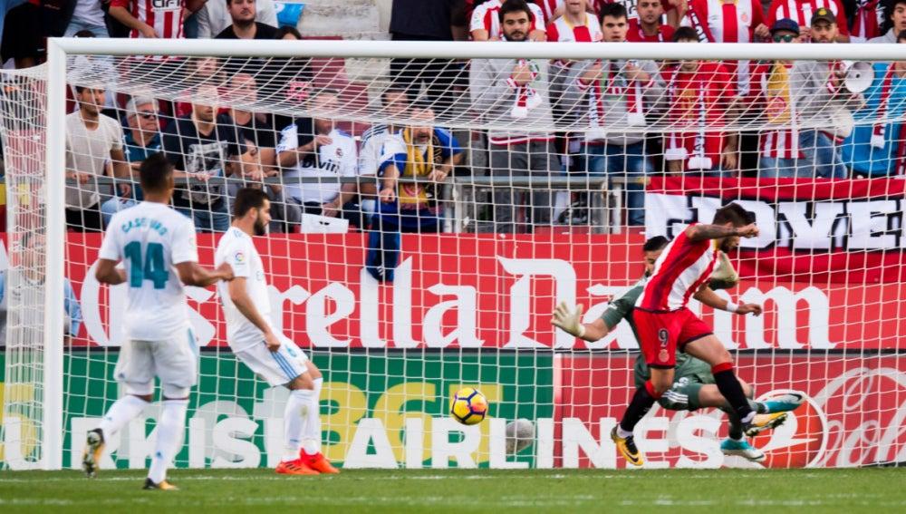 Portu anota el 2-1 ante el Real Madrid