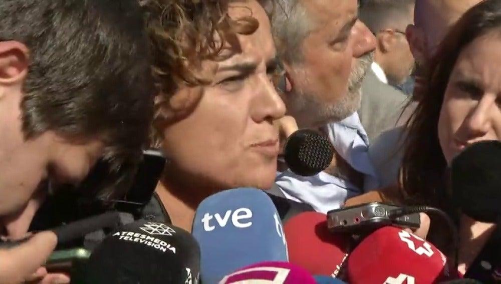"""Montserrat: """"Estamos convencidos de que todos los funcionarios de la Generalitat estarán al lado de la ley"""""""