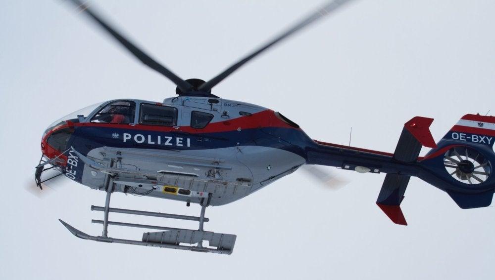 Helicoptero de la Policía Federal de Austria