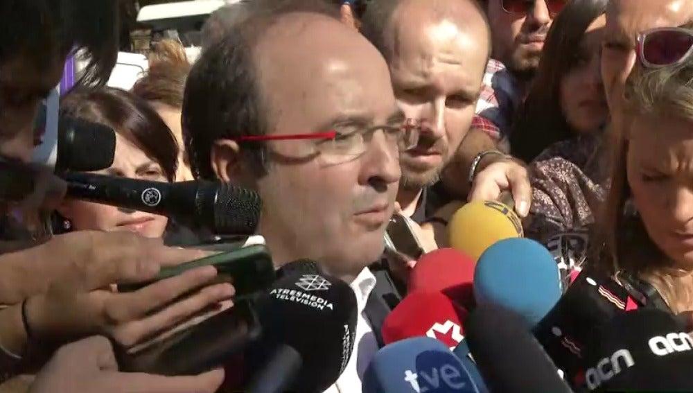"""Iceta: """"Es importante que seamos muchos los que digamos que no queremos separarnos del resto de España"""""""