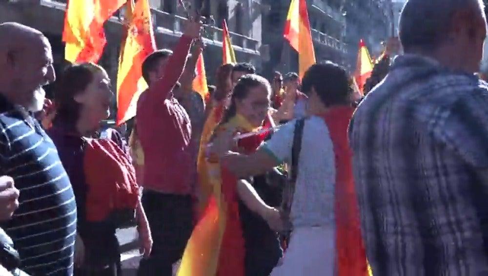 Sociedad Civil Catalana llama a manifestarse este domingo en Barcelona en apoyo de la aplicación del 155