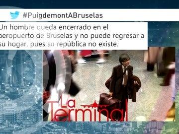 Memes del viaje de Puigdemont a Bruselas