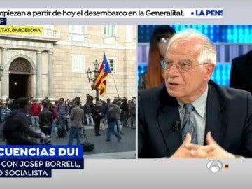 Josep Borrell, en EP