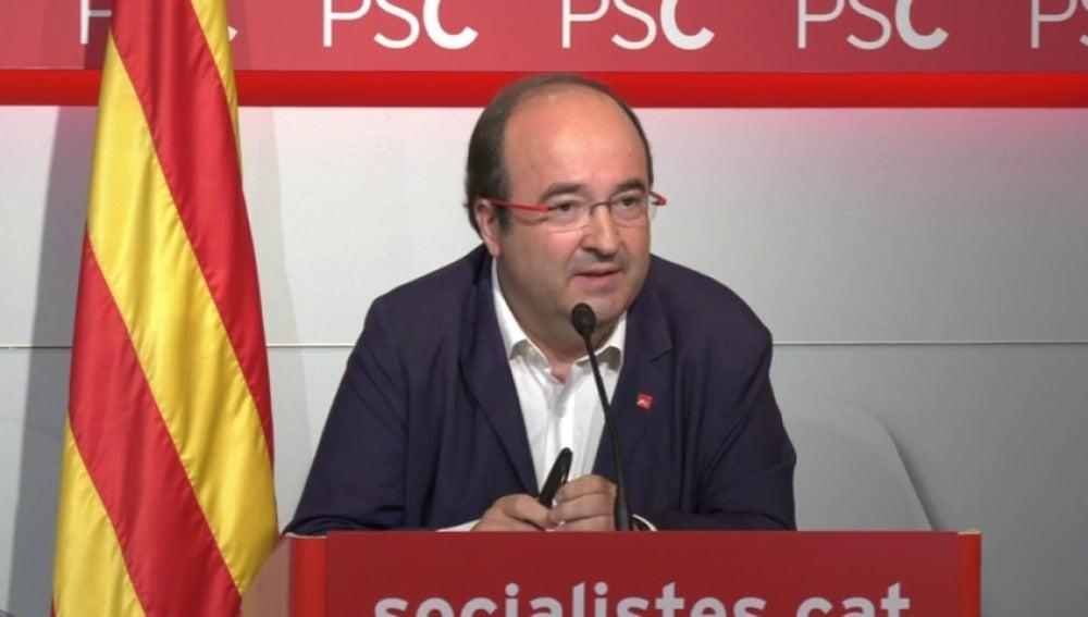 """Iceta recomienda al Govern cesado """"aceptar la realidad"""" y llama a cambiar de etapa"""