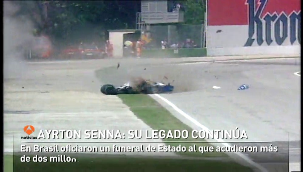 La leyenda de Ayrton Senna sigue viva