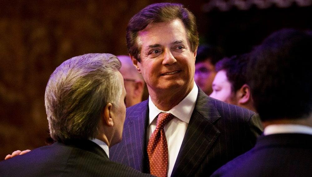 El exjefe de campaña del presidente Donald Trump, Paul Manafort.