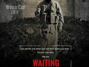 Cristiano Ronaldo, protagonista de un nuevo cartel amenazante de Daesh al Mundial