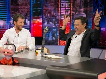 'Trancas y Barrancas ponen a prueba a Mariano Peña en 'El Hormiguero 3.0'