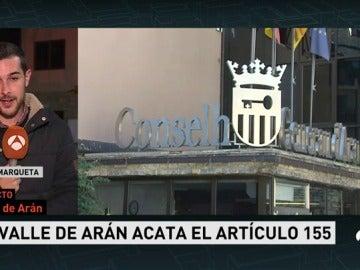 """El síndico del Valle de Arán, sobre la elección entre España y Cataluña: """"No podemos elegir legalmente entre nadie"""""""