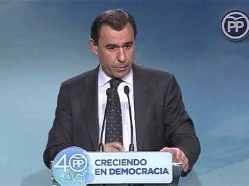 El PP dice que no está en la mesa una posible coalición con PSC y Ciudadanos para las elecciones del 21 de diciembre