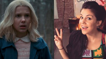 Angy Fernández se disfraza de Eleven, 'Stranger Things', en Halloween