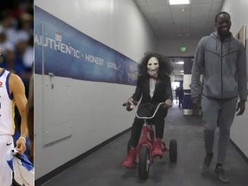 Stephen Curry y su disfraz de Halloween