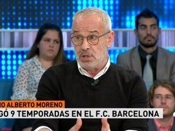"""Julio Alberto, exjugador del Barcelona: """"Esta directiva ha politizado el club"""""""