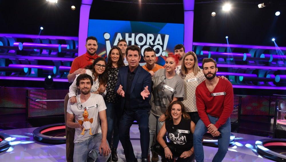 El jueves llega la gran final de '¡Ahora Caigo!' para conocer al campeón de España