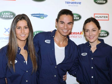Julio Iglesias Jr. junto a sus hermanas Ana Boyer y Tamara Falcó