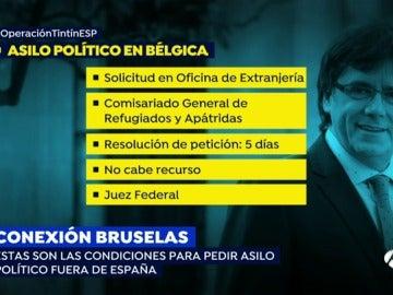 ¿Qué condiciones se deben dar para pedir asilo político fuera de España?